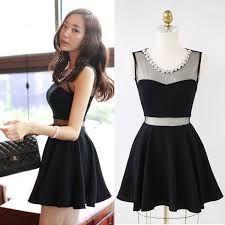 Resultado de imagen para vestidos negros cortos