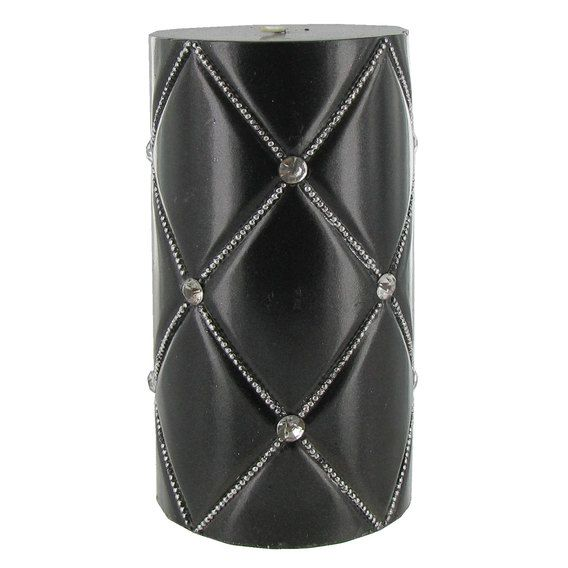 Get Black 3 x 6 Quilted Metallic Pillar Candle with online or find other Pillar Candles products from HobbyLobby.com
