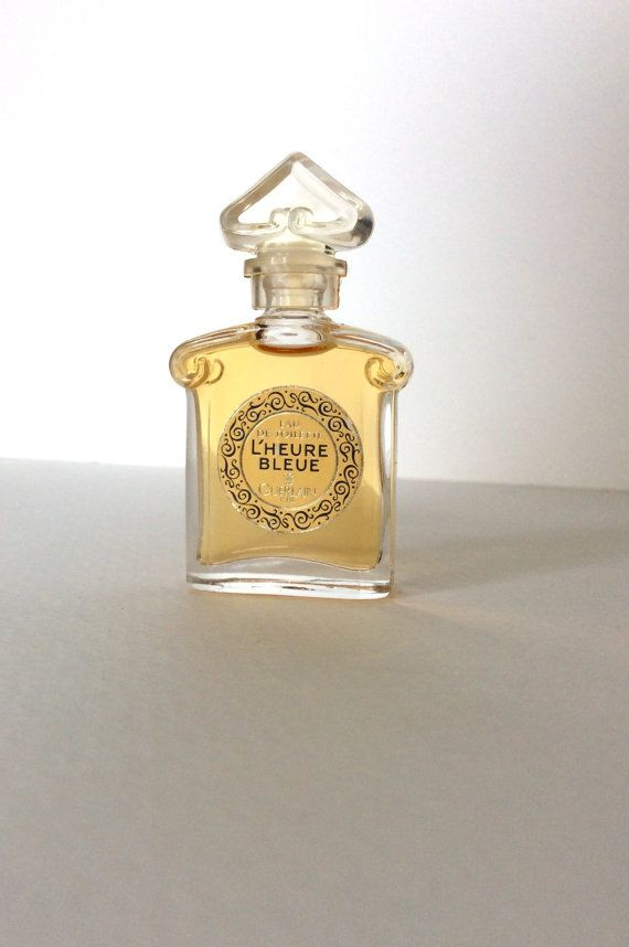 Guerlain. Miniature L'HEURE BLEUE by by SouthofFranceFinds on Etsy
