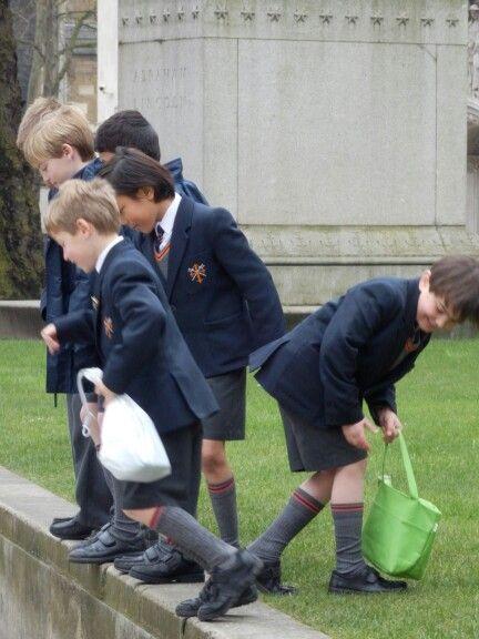 London school kids #uniform #England 2013