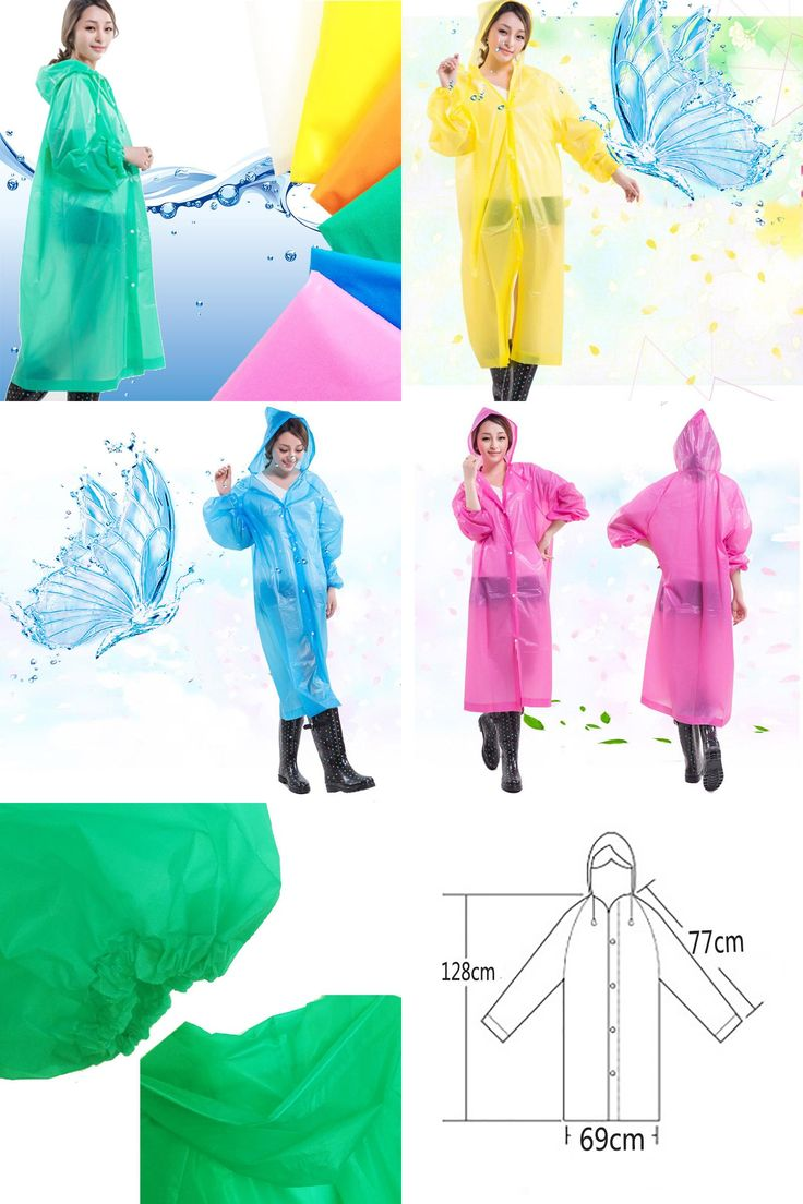 [Visit to Buy] Women Raincoat Rain Cover Waterproof Transparent Raincoats Cloak Poncho Impermeable Cycling Rain Coat Rainwear Capa de Chuva  #Advertisement