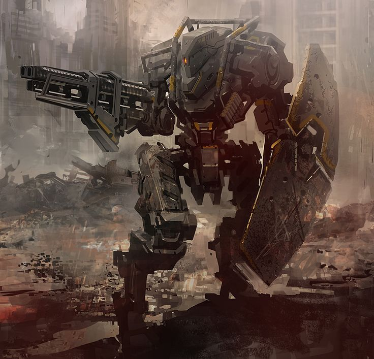 Картинки мех робот