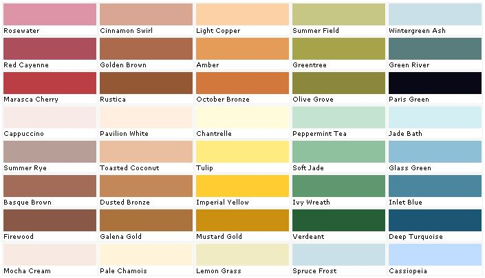 Sherwin williams paint color chart valspar lowes laura - Sherwin williams exterior paint colors chart ...