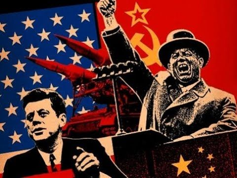 La guerra fría EEUU vs URSS Documental completo Español.