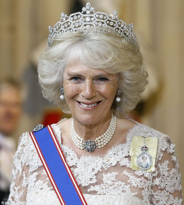 The Duchess Of Glamour Strikes Again: Camilla Glitters In