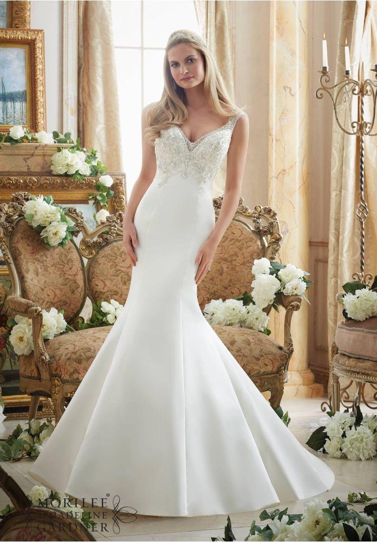 275 best Mori Lee Bridal Gowns images on Pinterest | Wedding ...