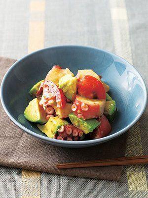 【ELLE a table】アボカドとたこのサラダレシピ|エル・オンライン
