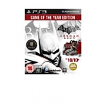Batman: Arkham City: Game of the Year Edition (PS3) $20
