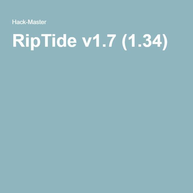 RipTide v1.7 (1.34)