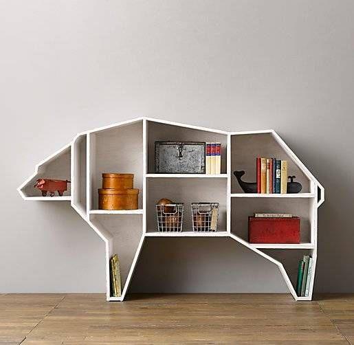 A Bear-y Genius Bookshelf - *snicker*