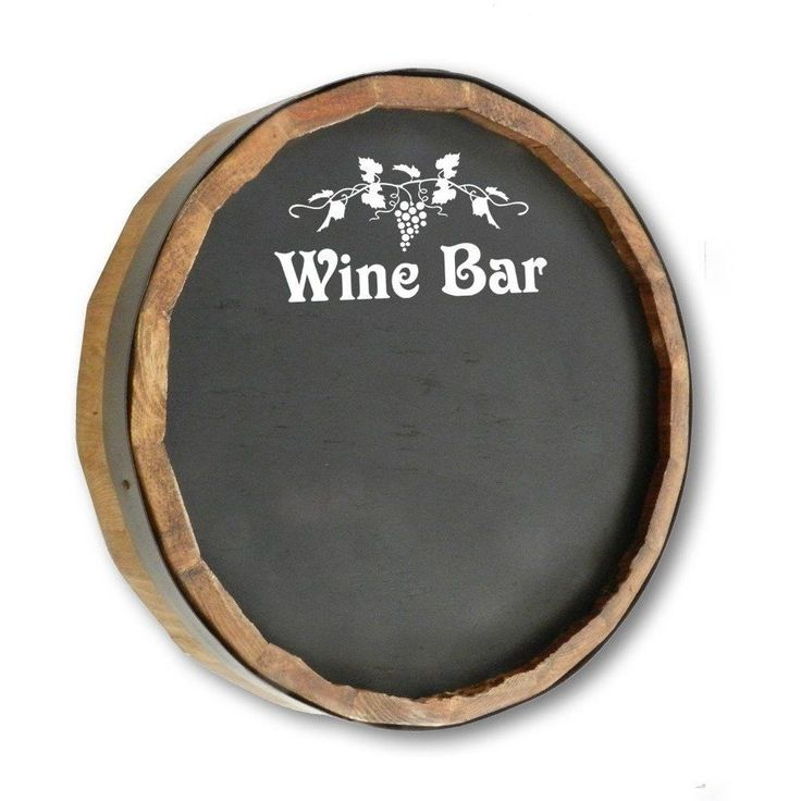 Quarter Barrel Chalkboard - Wine Bar