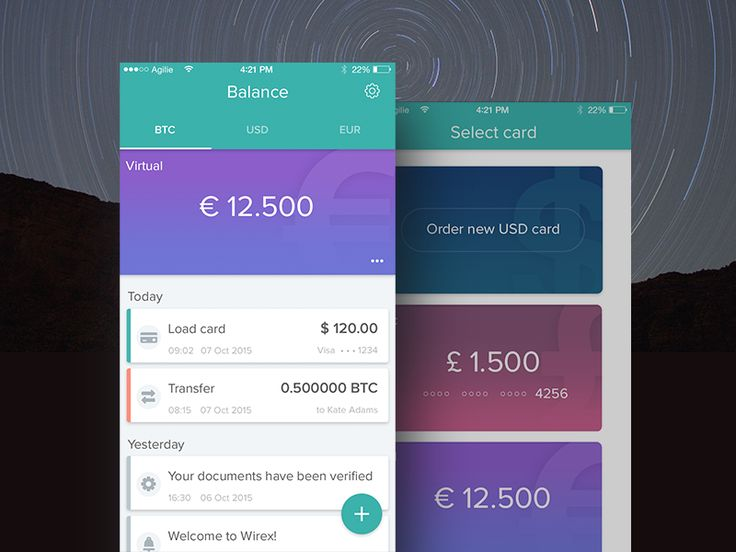 User interface by @A_MobileDesign