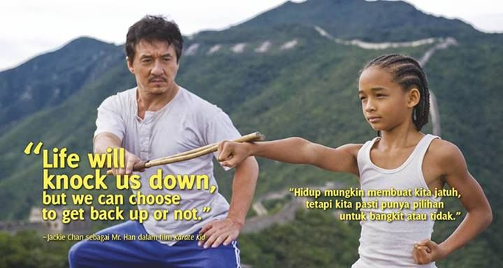 Bilderesultat for karate kid best quote