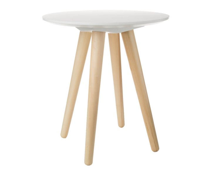 € 75 Fresh up your Home! Zum Beispiel mit dem wundervollen Beistelltisch BEE von Zuiver. Das kleine Tischchen ist eine super Ablagefläche für das neue Coffeetable Book, Lieblingsmagazin oder die heiß gefüllte Teetasse. Die flache und runde Tischplatte in Steinweiß ist aus glänzend lackiertem MDF-Birkenholz geschreinert; die vier, schrägen Beinchen sind ebenfalls aus Birkenholz fabriziert. Das kleine Tischmodell  BEE wirkt durch das cleane und schnörkellose  Design sehr elegant und modern und…