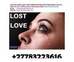 The bring back lost lover Magic love spells will retrieve your ex lover immediately. It will make the runaway wife or husband change their mind. They will remember all about your good qualities and forget about those negative moments that led to separation. This spell has got the power to destroy the side relationship and bring back your lover instantly. Even if the separation was caused by religious, political, cultural, Bad behaviers, Man stealing or family differences; it will harmonize…