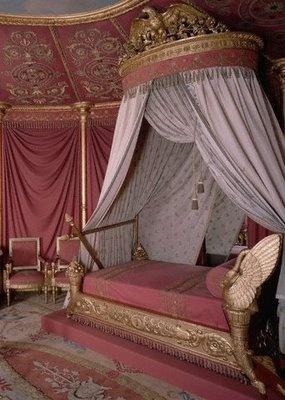 Camera con Letto di giorno di Giuseppina al castello della Malmaison