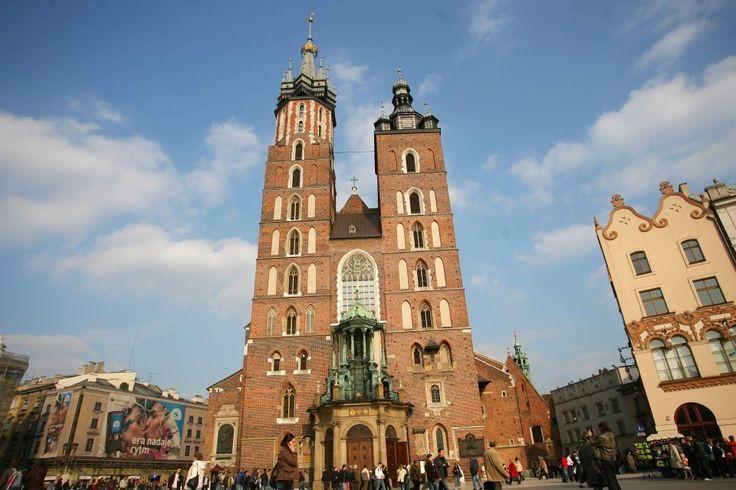Kraków. Kościół Mariacki/Fot. Paweł Piotrowski/Agencja Gazeta