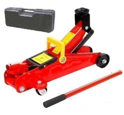 Cric de Chariot Hydraulique 2 Tonne / Jack Voiture Leve 2 Tonnes & Etui de Transport / Stockage: Cet article Cric de Chariot Hydraulique 2…