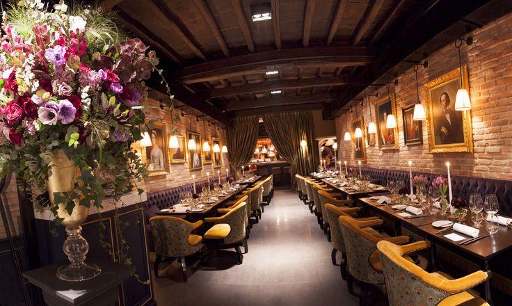 #restaurant #casacoppelle #jacquesgarcia #style #tearose