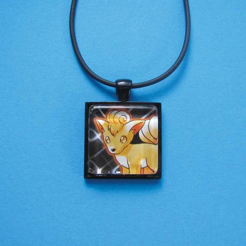 Pokemon Pendant - Vulpix only $8 @ OMG! Cute Kitten - Australian Handmade Jewellery