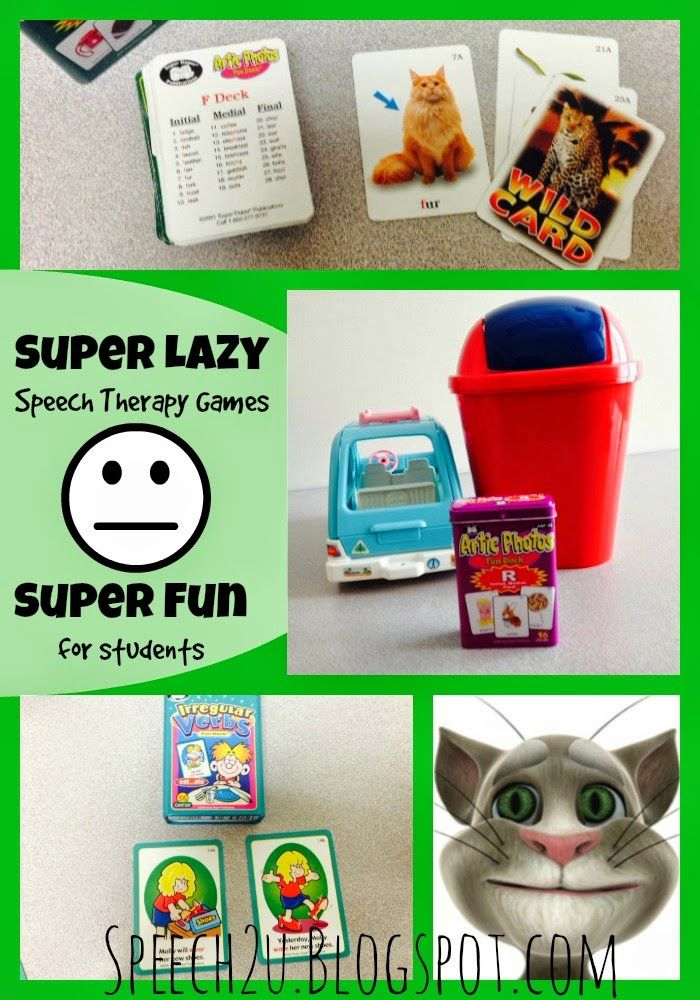 S2U: Lazy Speech Therapist-End of the Year Card deck activities Repinned by  SOS Inc. Resources  http://pinterest.com/sostherapy.