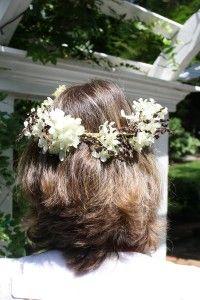 Hydrangea Floral Crown