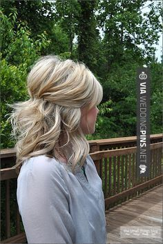 medium short hairstyles 2016 Prom Hairstyles For Medium Hair Half Up Half Down With Poof Hdioel