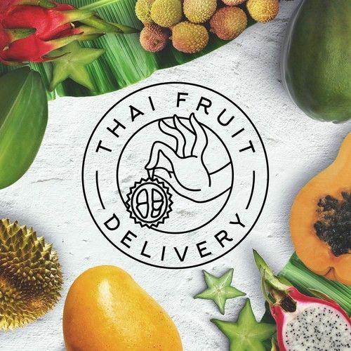 лого компании по доставке тайских фруктов