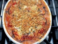 Jamie Olivers aubergine parmigiana