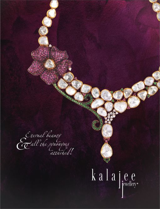 Diamond Polki Necklace available at the ongoing Hyderabad Jewellery Fair! #Diamonds #Jewellery #Jaipur