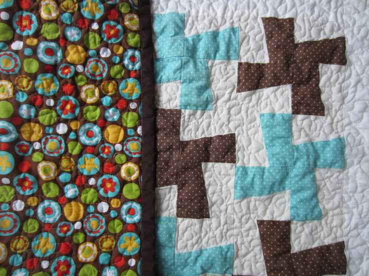 Another Whirlygig quilt.  Simply pretty!
