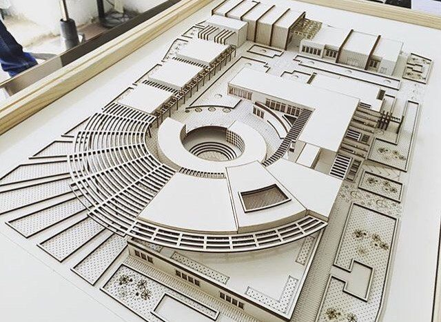 """2,067 curtidas, 20 comentários - Art & Architecture (@architects_need) no Instagram: """"#amazing #maquete #model By @arsheet_group """""""