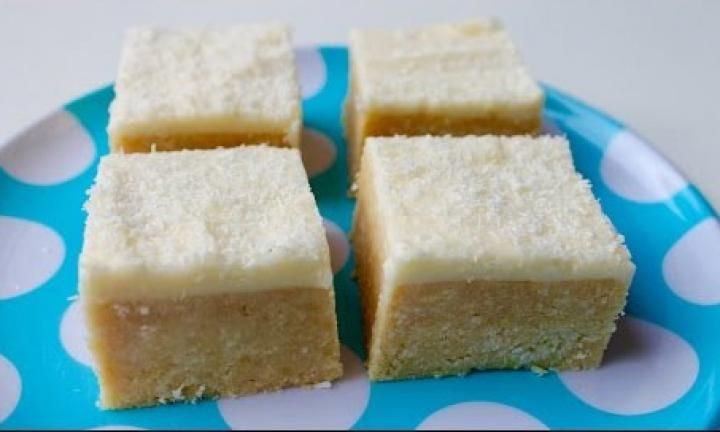 Coconut lemon slice is a classic no-bake slice that is always popular at fetes and cake stall. Easy to make; it combines a strong lemony flavour with a sweet coconut topping.