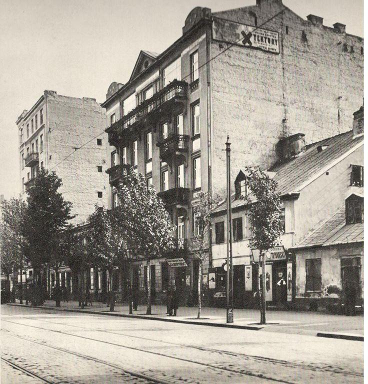 Warszawa międzywojenna - ul. Wolska