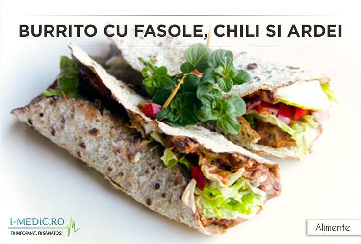 Burrito cu fasole, chili si ardei este un preparat bogat in fibre si proteine. http://www.i-medic.ro/diete/alimente/burrito-cu-fasole-chili-si-ardei