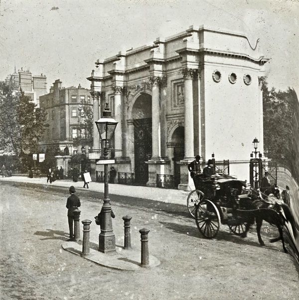 Marble Arch, London, c. 1900