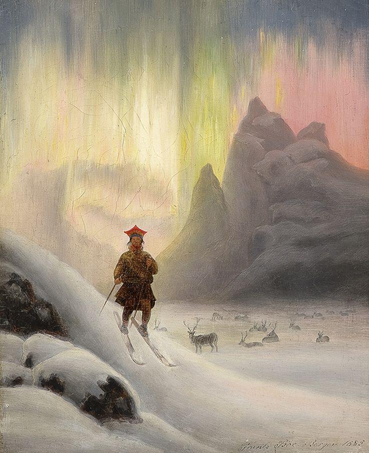 Image result for sámi northern lights