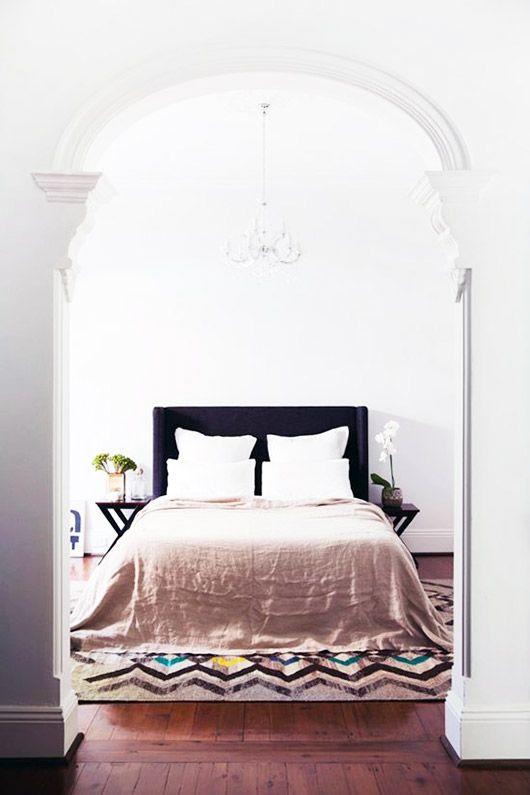 bedroom arch