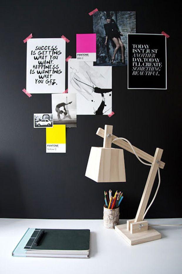 Para inspirar: paredes pretas na decoração