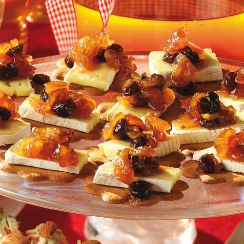 Recept på Pepparkakor med ost och chutney från - Hemmets Journal