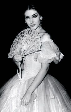 Maria Callas as 'Violetta'