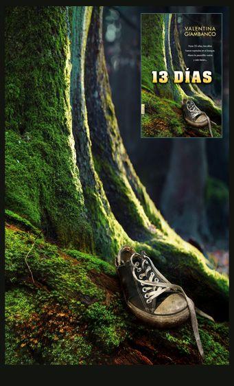 Cedidos los derechos de la ilustración de cubierta para la edición italiana de la novela 13 días (The Gift of Darkness) de Valentina Giambanco y editada en España por Ediciones Pàmies dentro de su sello La Huella