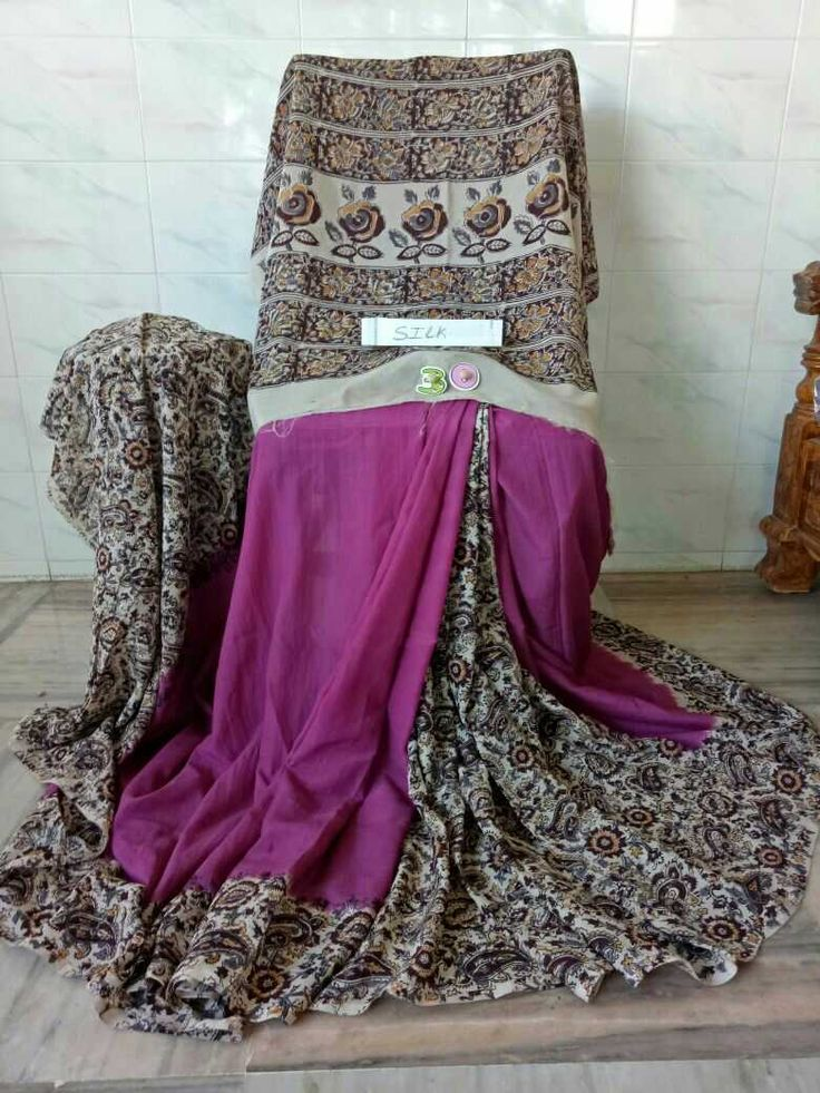 Kalamkari silk cotton sarees. Click here to buy https://www.moifash.com/south-ethnicz/product?id=58db528c753d882d543cc7f3