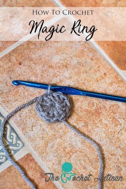 crochet magic ring instructions