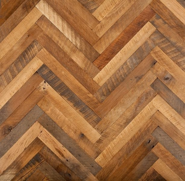 Fishbone floor floors pinterest floors design and for Reclaimed flooring