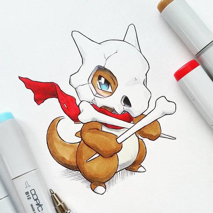 Artist: Itsbirdy   Pokemon   Cubone