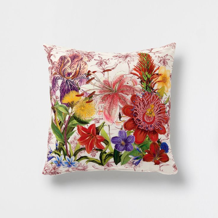 Floral landscape cushion - Cushions - Decoration | Zara Home Denmark