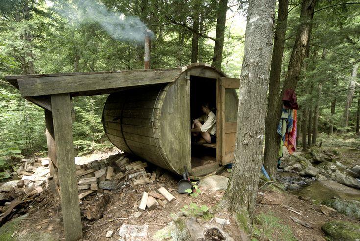 Cabin Porn: Family yurt retreat near Keene Valley, NY in the...