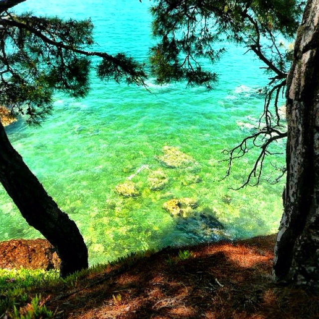 Paradise in Thassos Greece