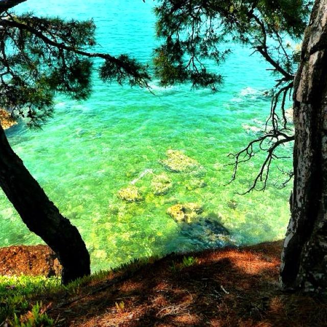 Paradise in Thassos Greece